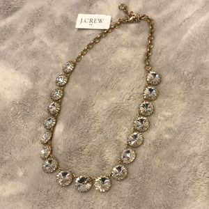 NWT j.crew gold necklace